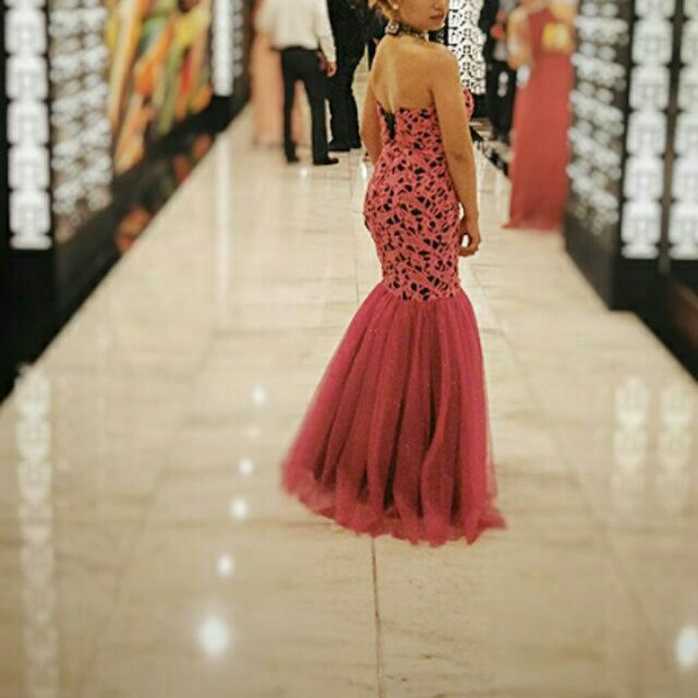 Formal Gown ( Serpentine Cut)