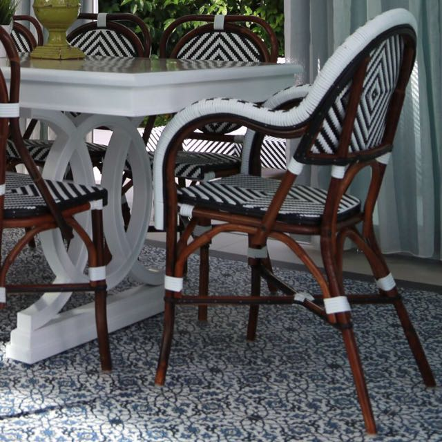 french cafe chair furniture tables chairs on carousell