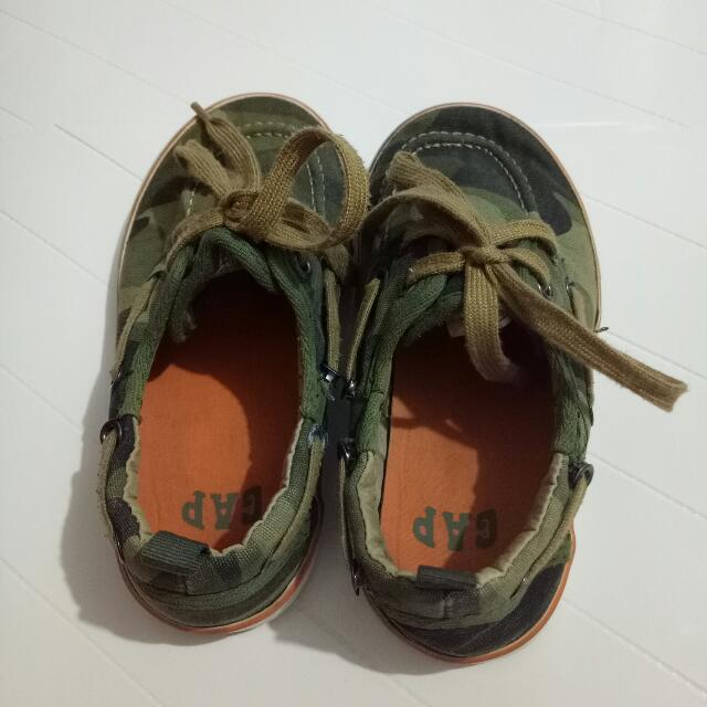 Gap Boat Camouflage Shoes Size:US 11          UK 10          EUR 28          17 CM