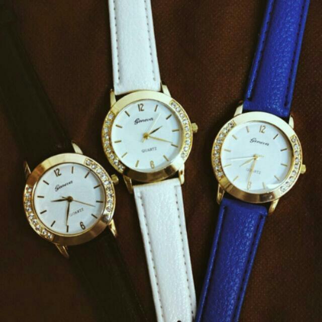 Geneva Watch 😘😘😘😘