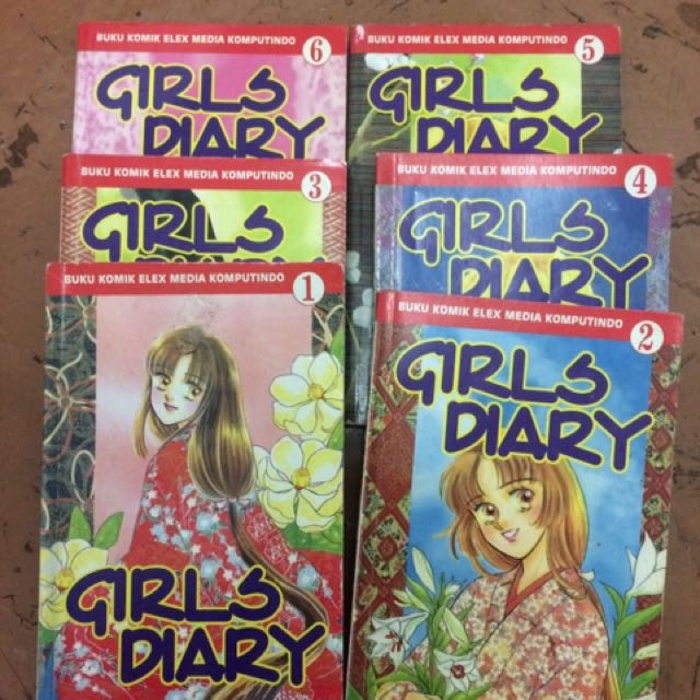 Girls Diary Comic