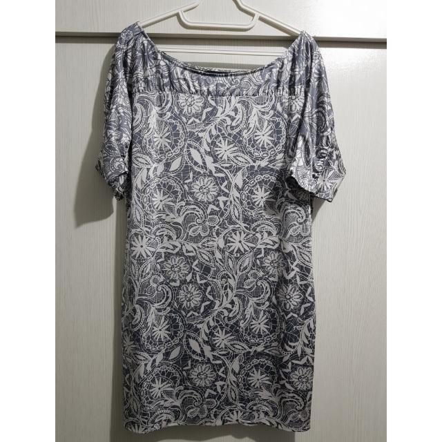 Repriced! Gray printed dress