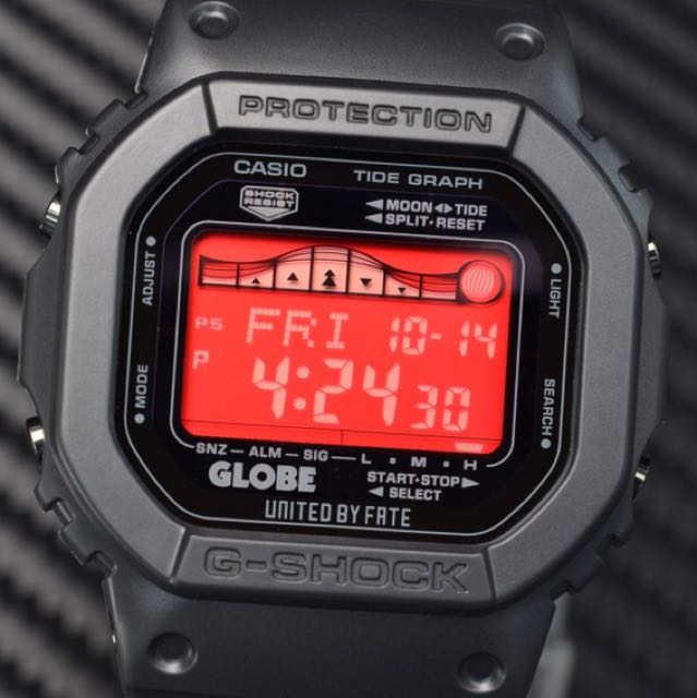 brand new 17677 9ac97 G-Shock X GLOBE LIMITED EDITION GRX5600GE-1, Men s Fashion, Watches on  Carousell