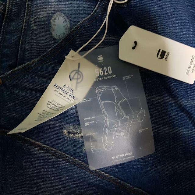 G-Star Elwood 3D Tapered Pocket Jeans