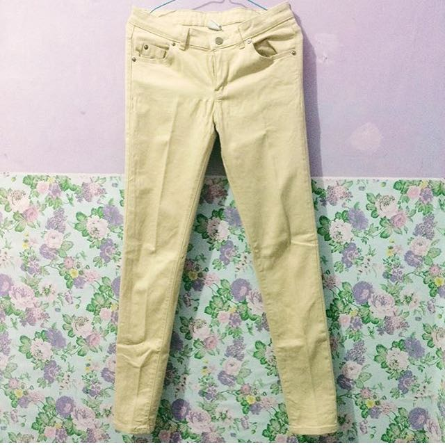 Hammer Long Pant Warna Cream