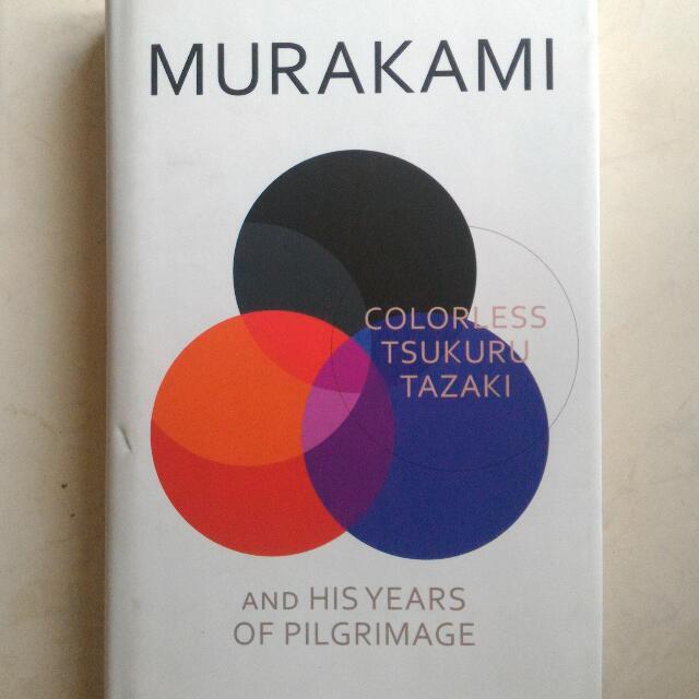 Haruki Murakami Colorless Tsukuru Tazaki