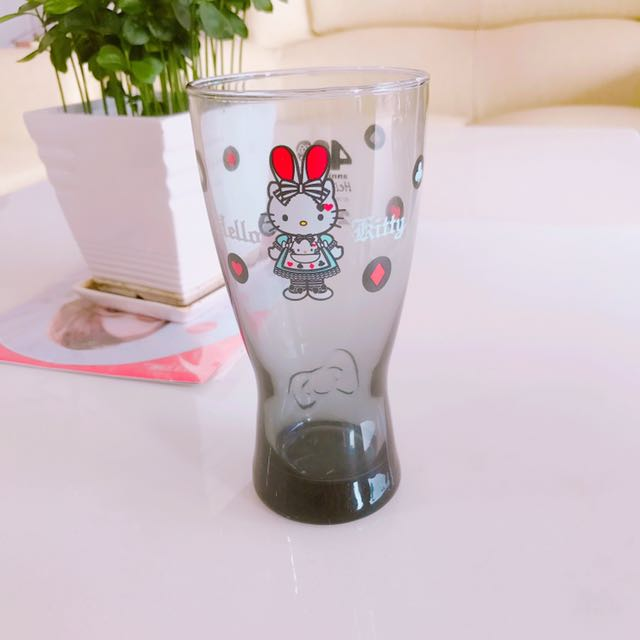 Hello kitty 玻璃杯