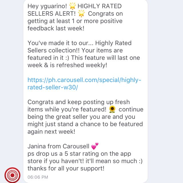 HIGHLY RATED SELLER ONCE AGAIN 💚