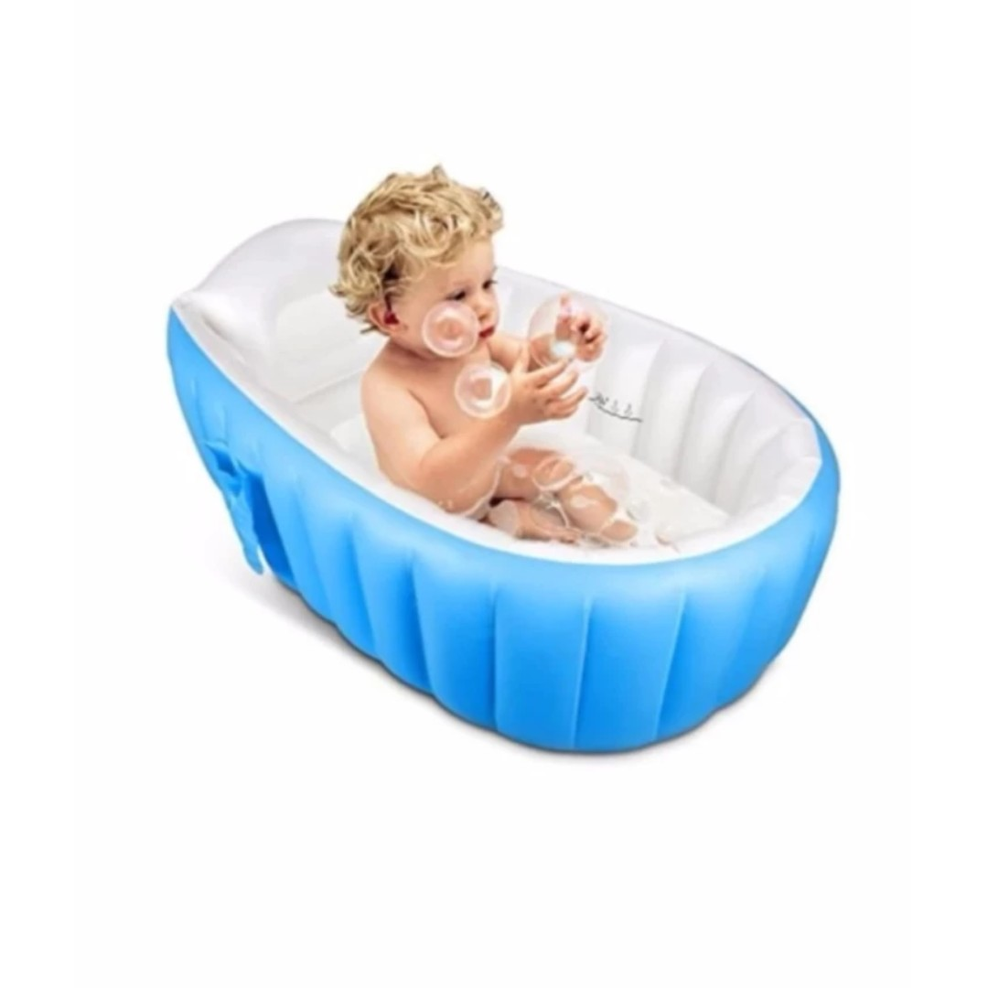 Inflatable Baby Bath Tub, Babies & Kids, Others on Carousell