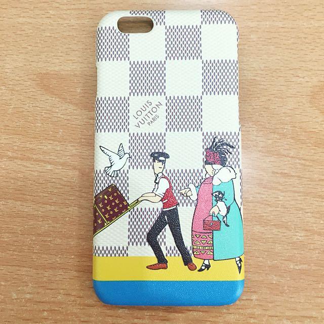 iPhone 6 LV Damier Cream Case