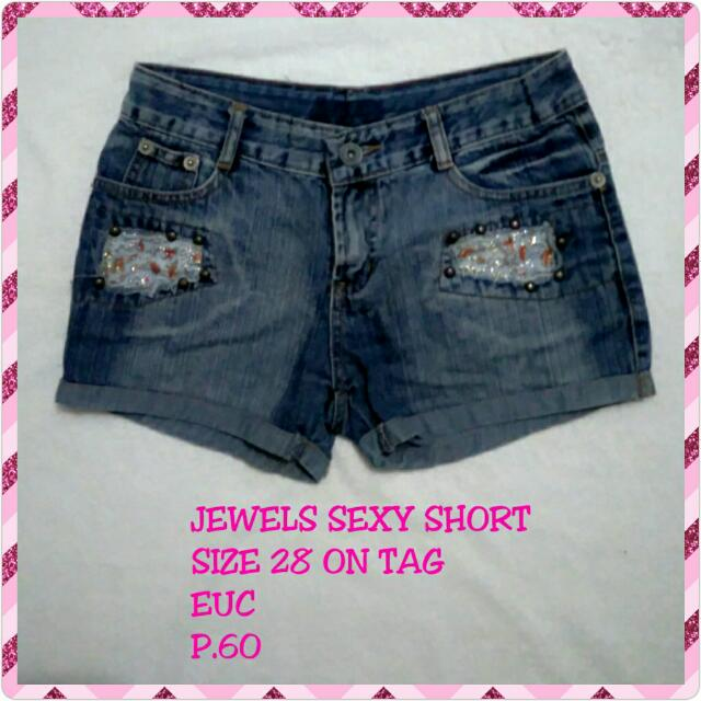Jewels Sexy Maong Shorts