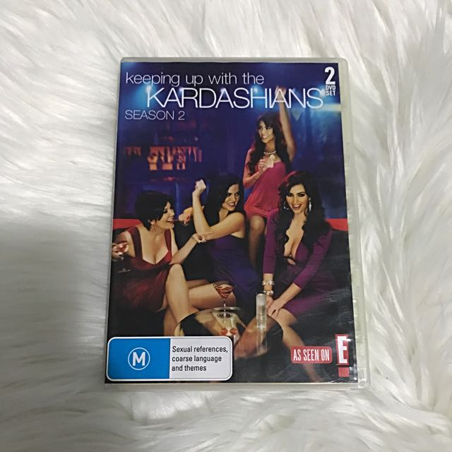 Keeping Up With The Kardashians DVD Season 2