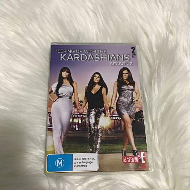Keeping Up With The Kardashians DVD Season 3