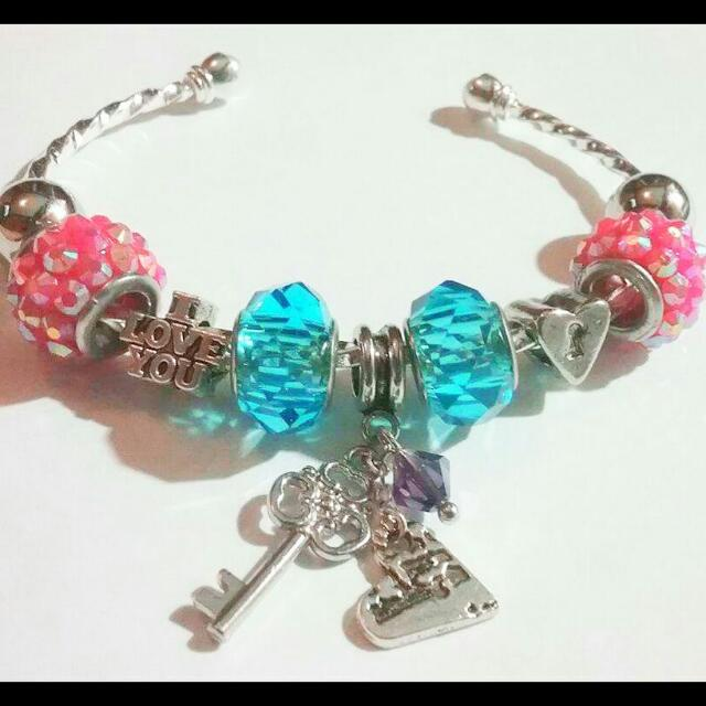 Key To My Heart Cuff Bracelet