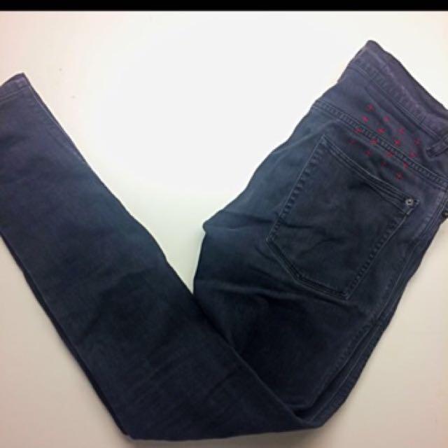 Ksubi Washed Black Skinny Jeans