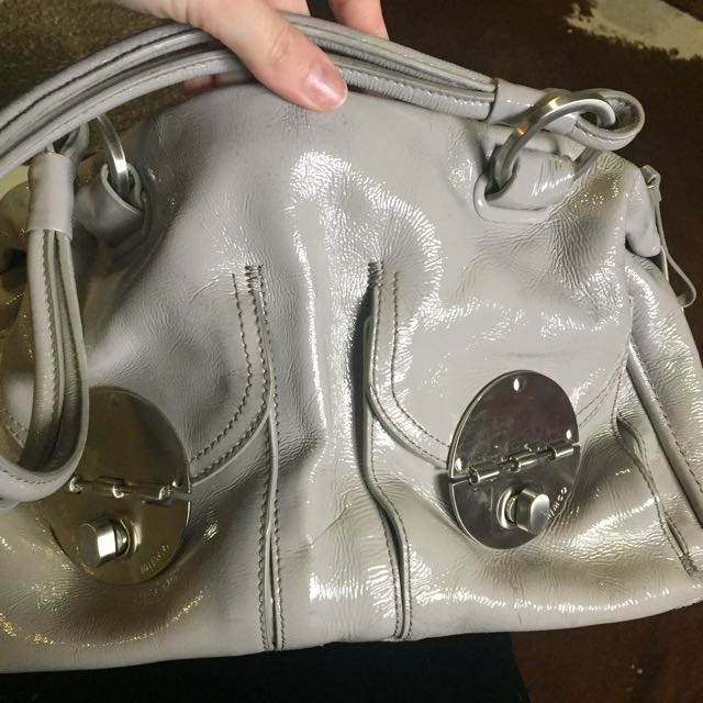 Large Mimco Turnlock Bag