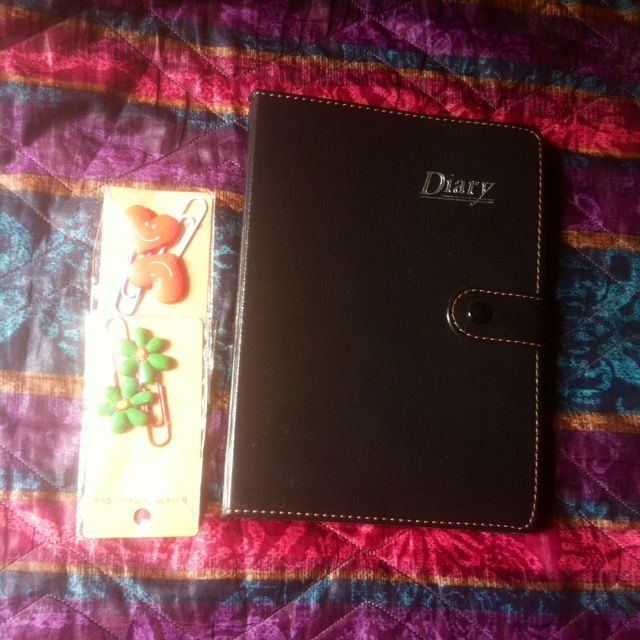 Leather Notebook/Diary