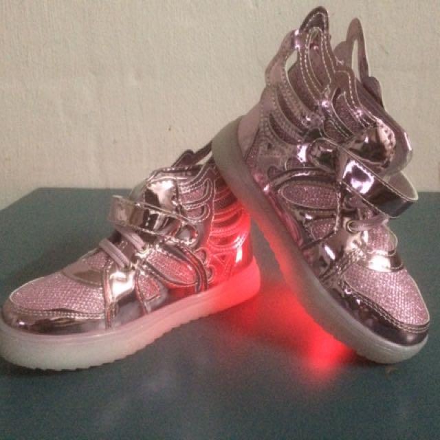 LED kids Shoe.