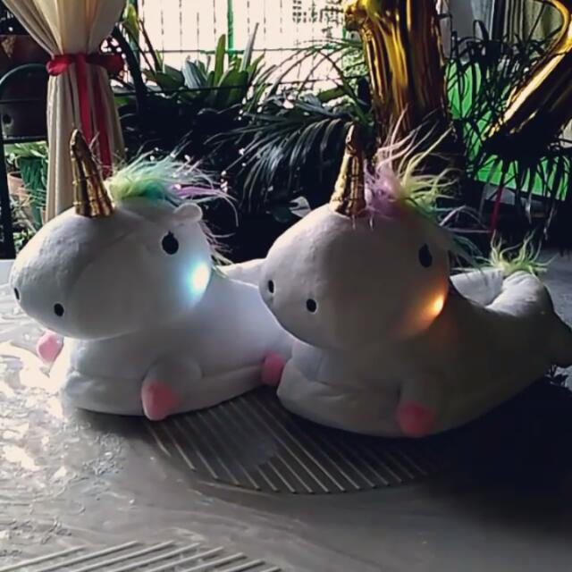 Less Php50 on Unicorn Slippers