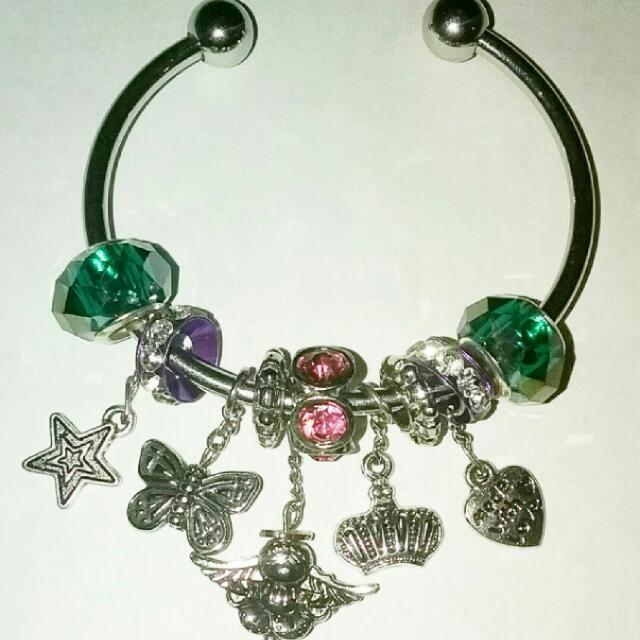 Little Girl Charming Cuff Bracelet