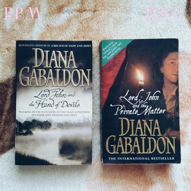 Lord John Novellas by Diana Gabaldon