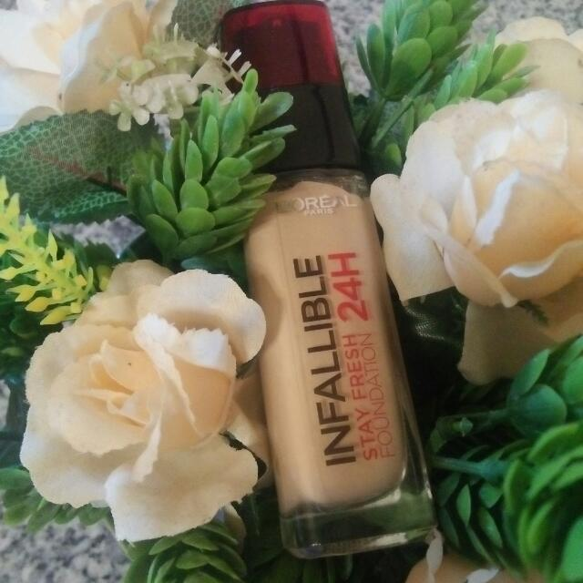 loreal infallible foundation 200