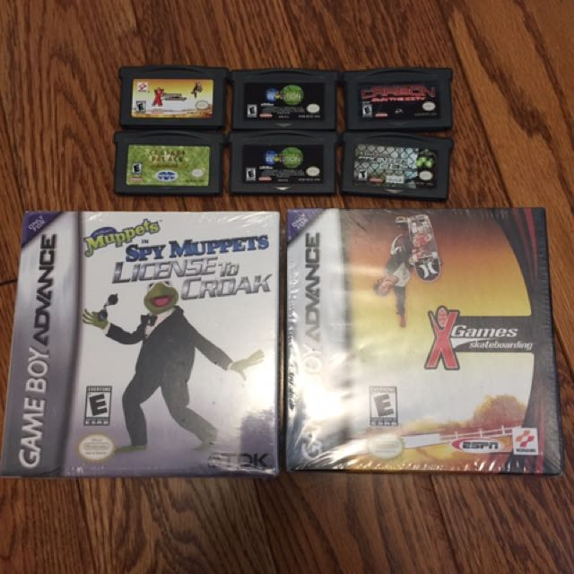 Lot Of 8 Game Boy Advance Games