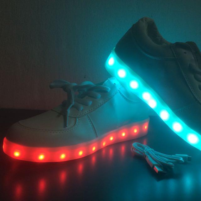 Luminous LED Sneakers