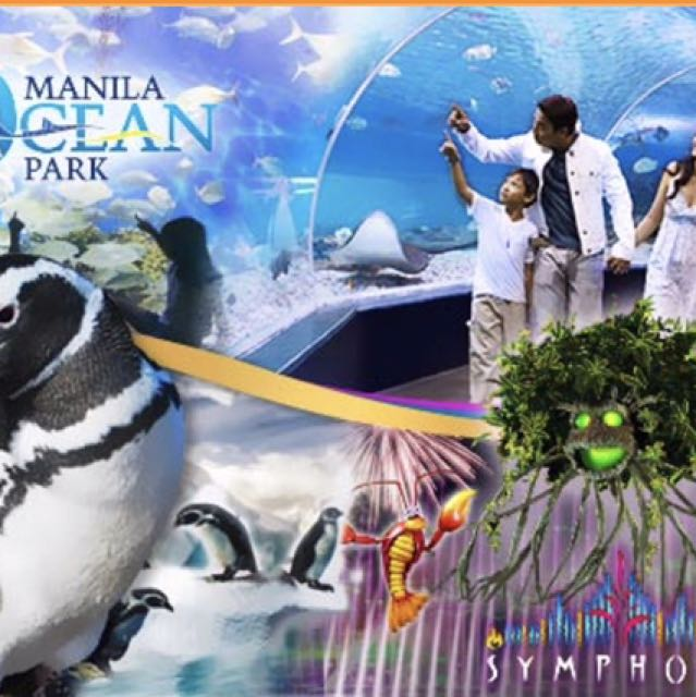 Manila Ocean Park Discounted Tickets (8 in 1)