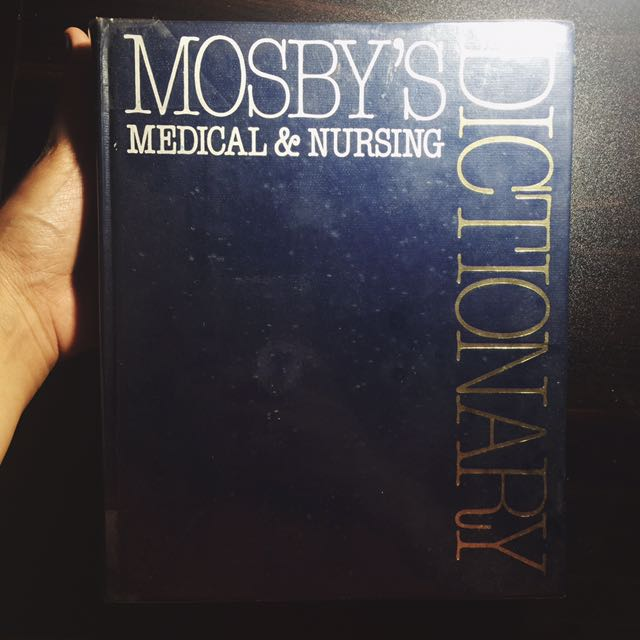 Medical Dictionary By Moseby