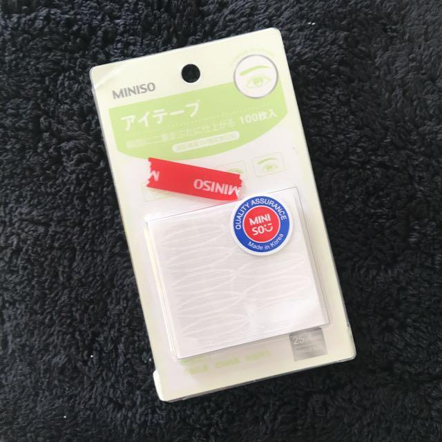 Miniso Eyelid Tape (untuk lipatan mata)