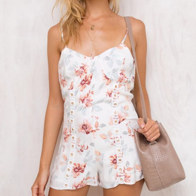 Mink Pink Innocence Playsuits Size XS