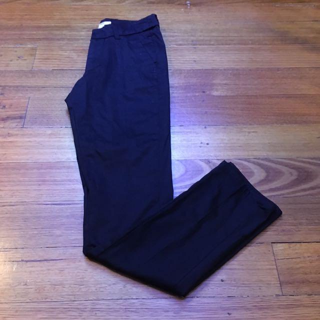 MNG (Mango) Black Pants Size 4-6