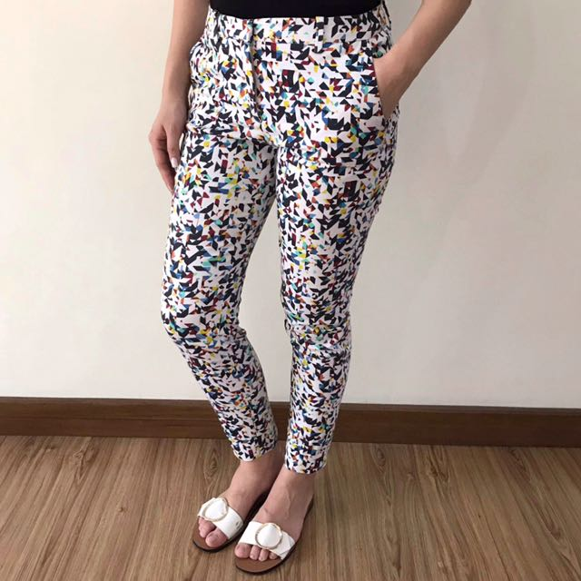 Zara Multi-colored Pants