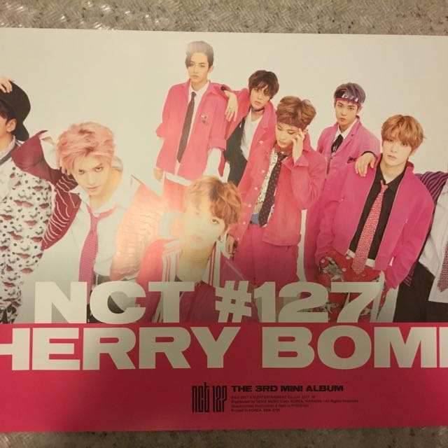 NCT 127 Cherry Bomb Poster