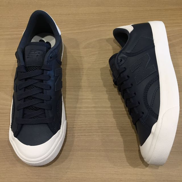 new balance Proct 帆布鞋 復古 復刻 男女鞋 情侶鞋 皮 灰 藍 白 全新 公司貨