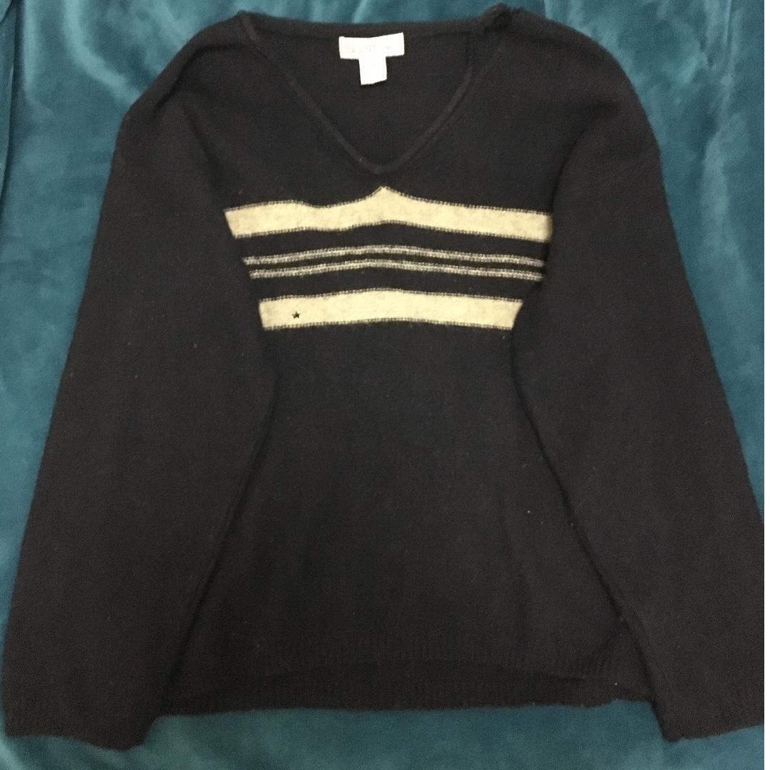 New Union Woollen Sweater Dark Blue