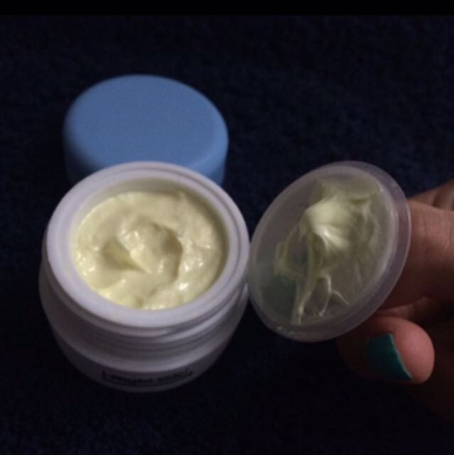 night cream glowing