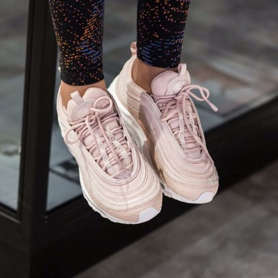 """various colors 8bd59 704d2 NIKE AIR MAX 97 PRM """"PINK SNAKESKIN"""", Women s Fashion, Women s Shoes on  Carousell"""