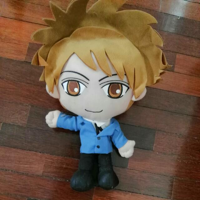 ouran high school host club s hikaru hitachiin plushie