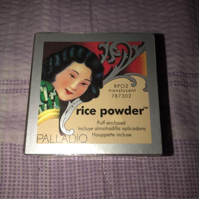 New Palladio Rice Powder