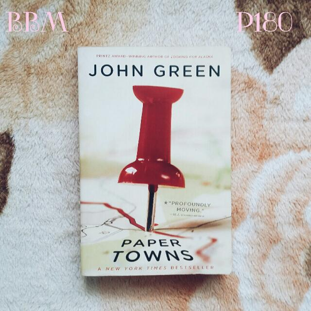 Papertowns by John Green