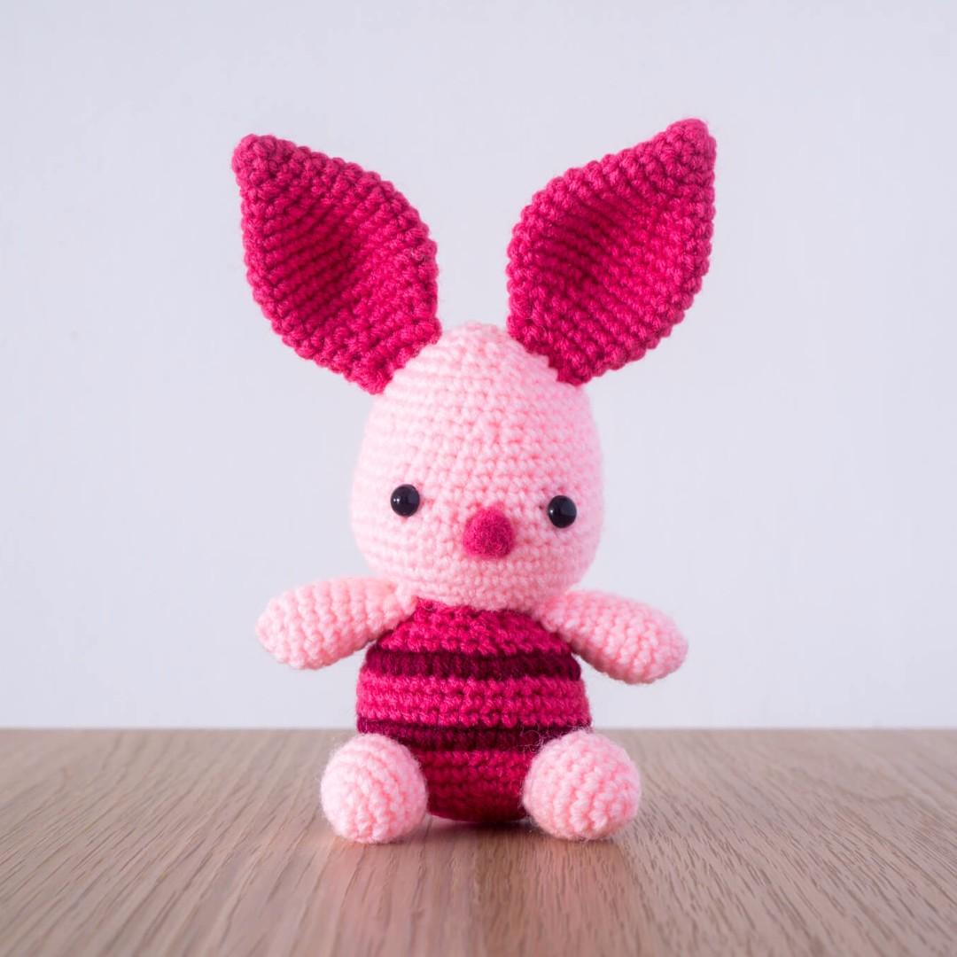 Piglet from Winnie the Pooh Amigurumi