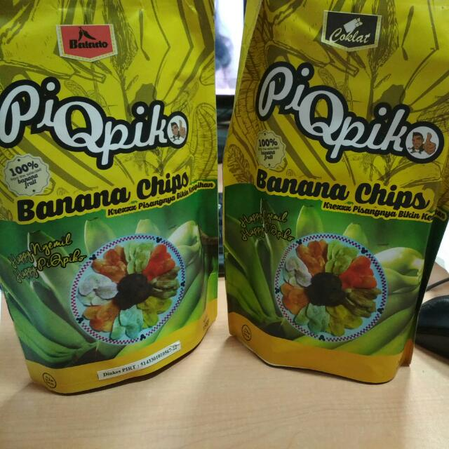 PIOPIKO (kripik pisang aneka rasa)