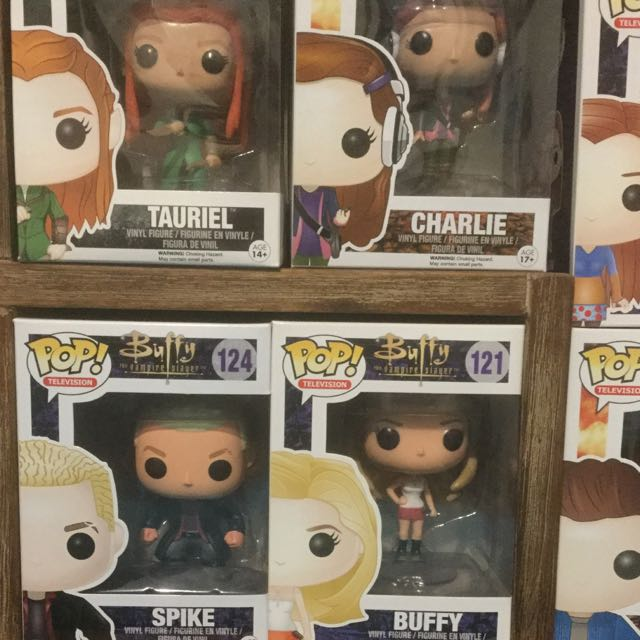 Pop Vinyl Figurines Supernatural, The Hobbit, Buffy The Vampire Slayer