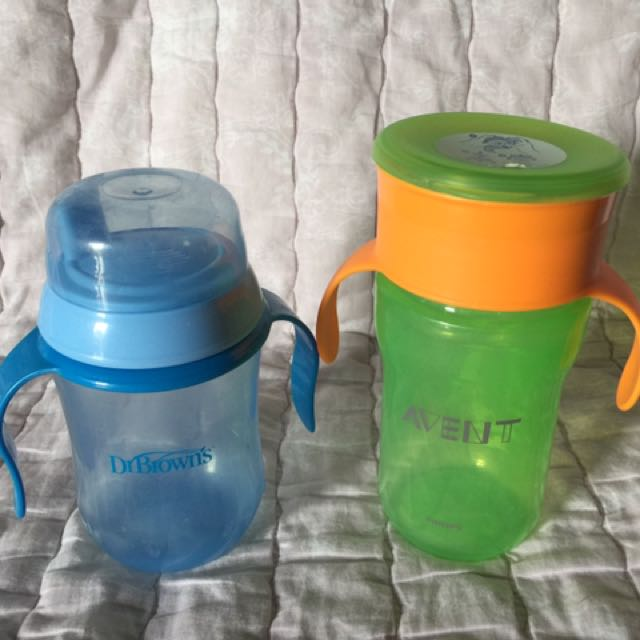 REPRICED!! Pre-loved Sippy Cups
