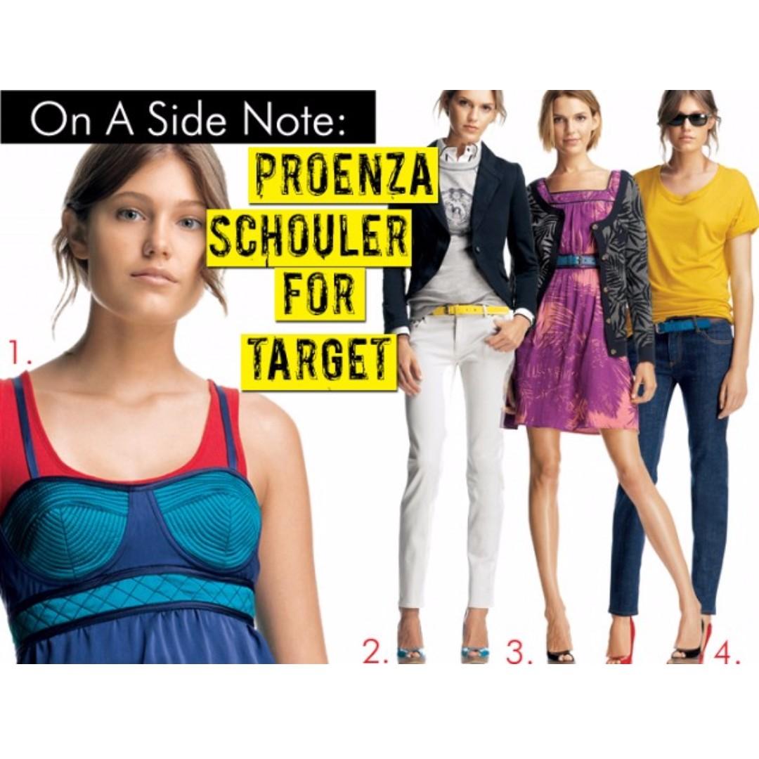 Proenza Schouler for Target Silk Bustier Top