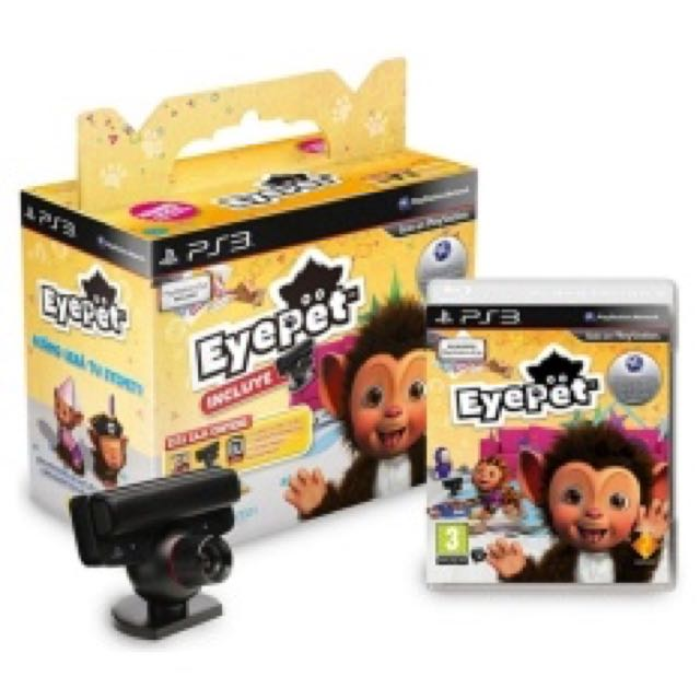 PS3 Eyepet with camera