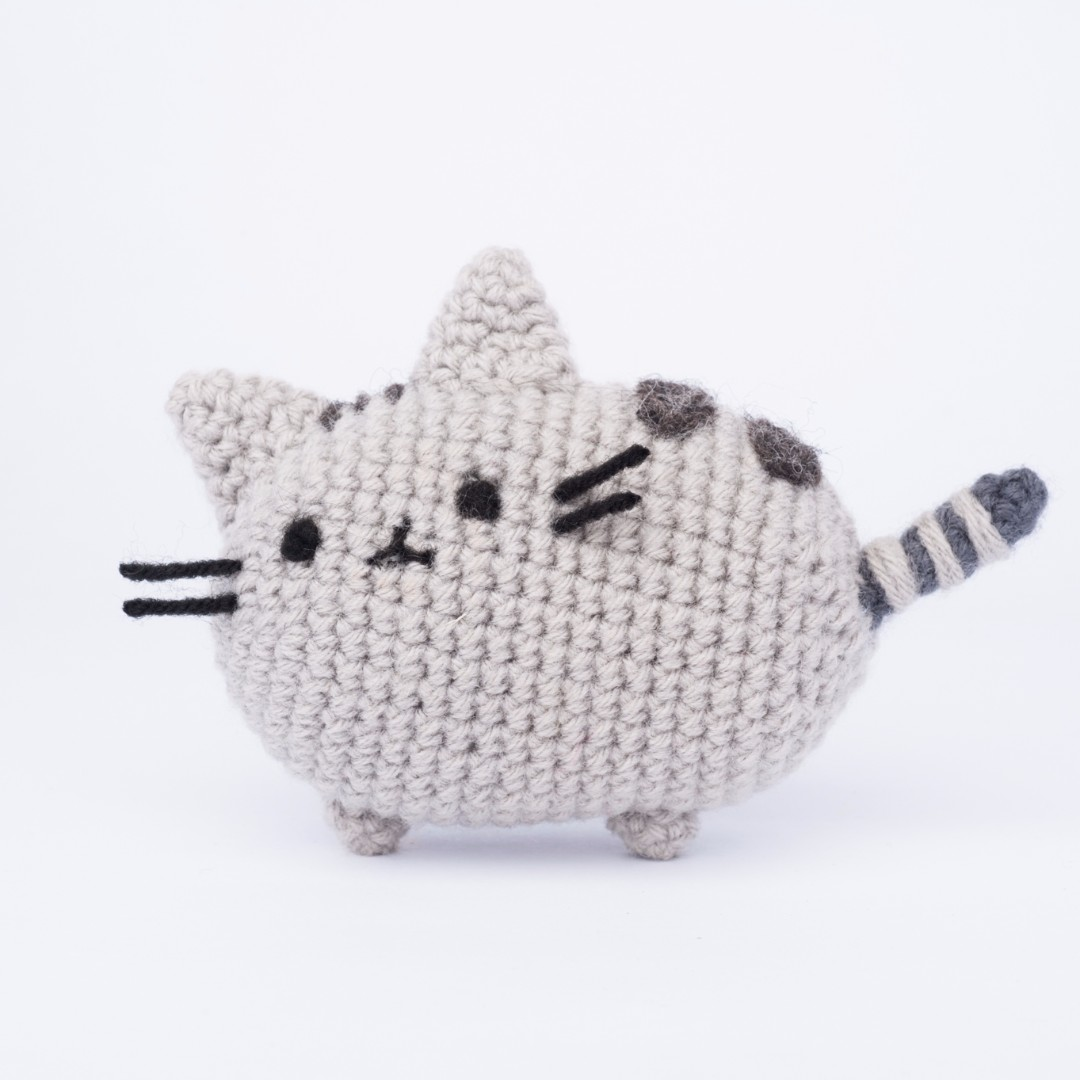 Pusheen from Messenger Amigurumi