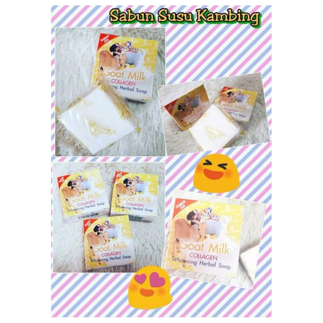 Sabun Susu Kambing Collagen Health Beauty Skin Bath Body On Carousell